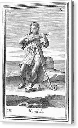Guitar, 1723 Canvas Print by Granger