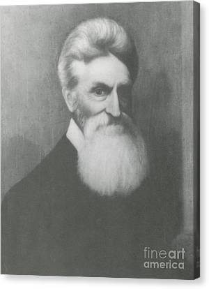 John Brown, American Abolitionist Canvas Print by Photo Researchers