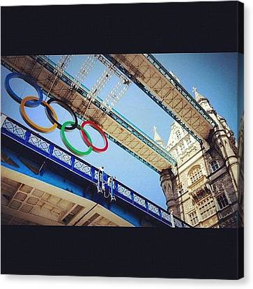 #london2012 #london #olympics Canvas Print by Nerys Williams