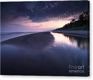 Long Point Beach Canvas Print by Oleksiy Maksymenko