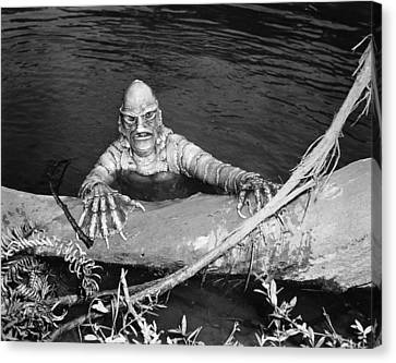 Sea Monster, 1953 Canvas Print