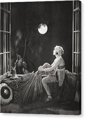 Silent Film Still: Costume Canvas Print by Granger