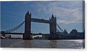 Tower Bridge Canvas Print by Dawn OConnor
