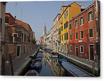 Architectures Canvas Print - Venice - Italy by Joana Kruse