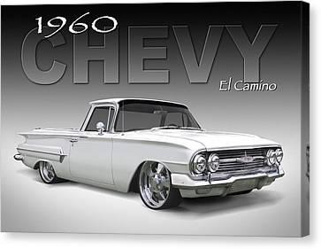 60 Chevy El Camino Canvas Print by Mike McGlothlen