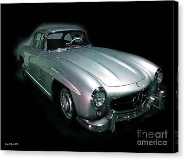 61 Mercedes Canvas Print by Jerry L Barrett