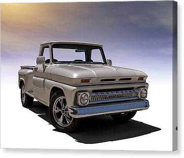 Custom Canvas Print - '66 Chevy Pickup by Douglas Pittman