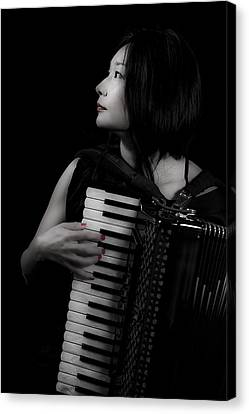 Accordion Canvas Print by Joana Kruse