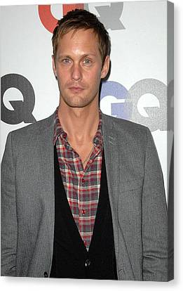 Alexander Skarsgard At Arrivals Canvas Print