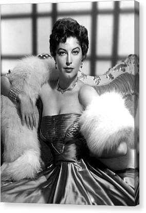 Ava Gardner Canvas Print by Everett