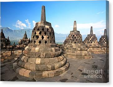 Borobudur Canvas Print