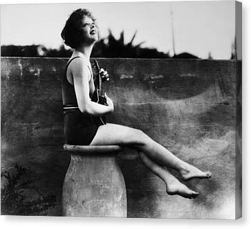 Clara Bow (1905-1965) Canvas Print by Granger