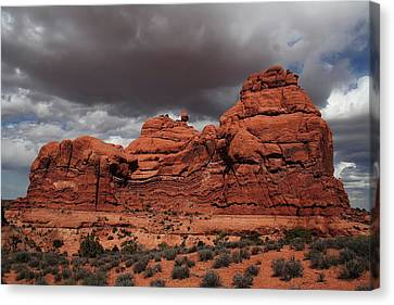 Desert Storm Canvas Print by Southern Utah  Photography