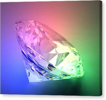 Diamond Canvas Print by Lawrence Lawry