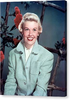 1950s Fashion Canvas Print - Doris Day, Warner Brothers, 1950s by Everett