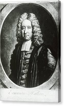 Edmond Halley, English Polymath Canvas Print by Science Source