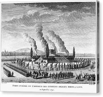 French Revolution, 1790 Canvas Print by Granger