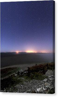 Night Sky Canvas Print by Laurent Laveder