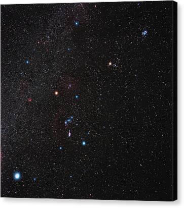 Orion Constellation Canvas Print by Eckhard Slawik