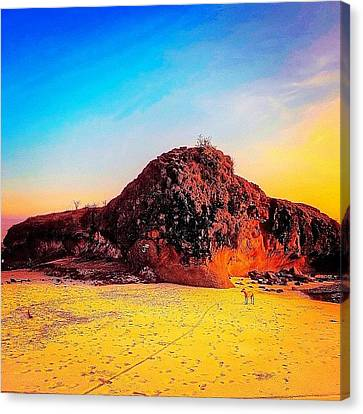 Instagram Photo Canvas Print by Tommy Tjahjono