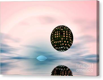 Planets Canvas Print by Odon Czintos