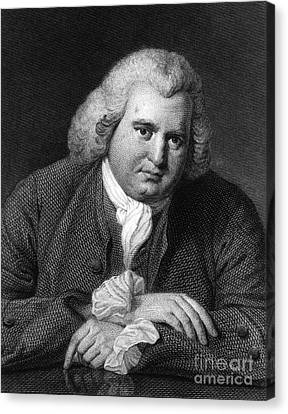 Abolitionist Canvas Print - Erasmus Darwin, English Polymath by Science Source