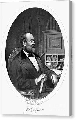 James A. Garfield (1831-1881) Canvas Print by Granger