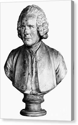 Jean Jacques Rousseau Canvas Print by Granger
