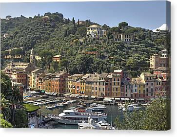 Jet Set Canvas Print - Portofino by Joana Kruse