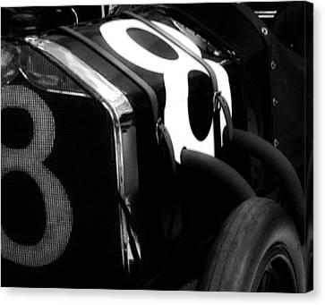 8 Racer Canvas Print