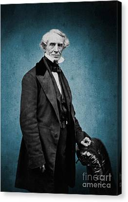 Samuel Morse, American Inventor Canvas Print by Science Source