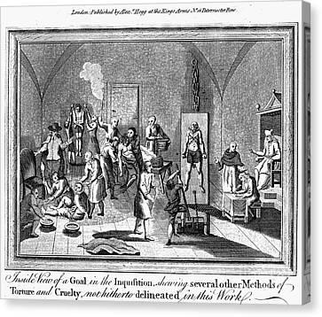 Spanish Inquisition Canvas Print by Granger