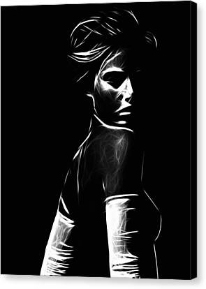 The Look Canvas Print by Steve K