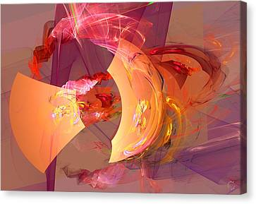 Generative Canvas Print - 816 by Lar Matre