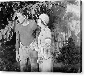 Silent Film Still: Couples Canvas Print by Granger