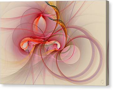 Generative Canvas Print - 864 by Lar Matre