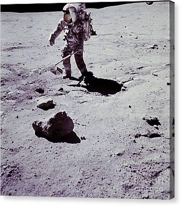Apollo Mission 16 Canvas Print by Nasa
