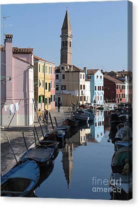 Venise Canvas Print - Burano.venice by Bernard Jaubert