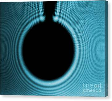 Fresnel Diffraction Canvas Print by Omikron
