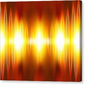 Voice Recognition Canvas Print by Mehau Kulyk