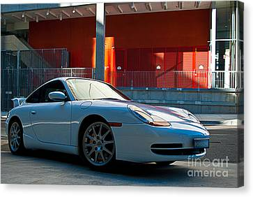 911 Porsche 996 2 Canvas Print by Stuart Row