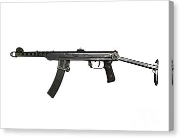A 7.62mm Type 54 Machine Gun, A Variant Canvas Print by Andrew Chittock