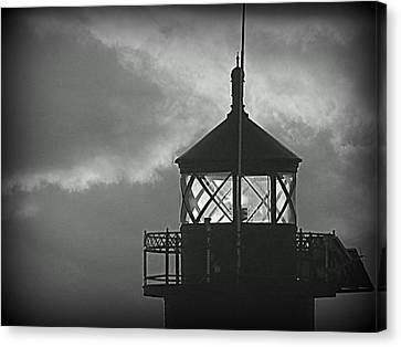 A Beacon In The Night Canvas Print by Kay Novy