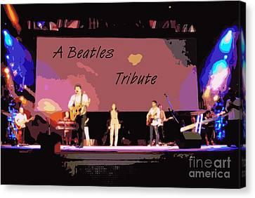 A Beatles Tribute Canvas Print by Renee Trenholm