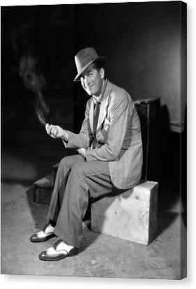 A Bedtime Story, Maurice Chevalier, 1933 Canvas Print by Everett