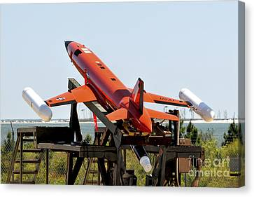 A Bqm-167a Subscale Aerial Target Canvas Print by Stocktrek Images