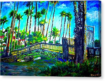 Oil Canvas Print - A Bridge To Home by Romy Galicia