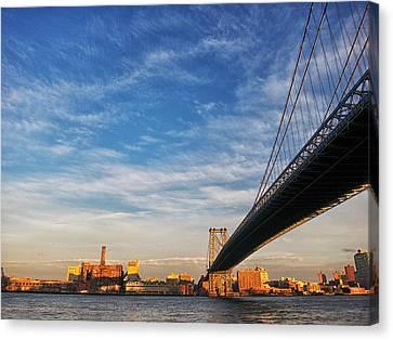 A Bridge To Williamsburg Canvas Print