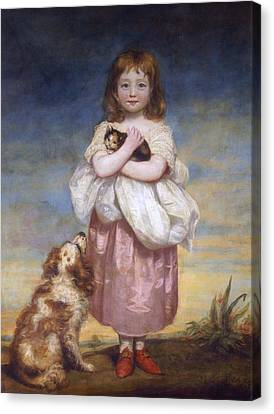 Cocker Spaniel Canvas Print - A Child by James Northcore