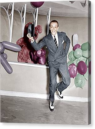 A Damsel In Distress, Fred Astaire, 1937 Canvas Print by Everett